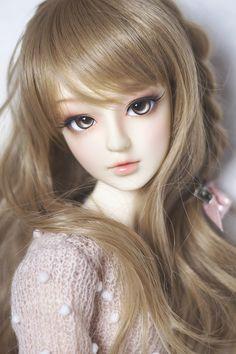 The Porcelain China Diane Beautiful Barbie Dolls, Pretty Dolls, Anime Dolls, Bjd Dolls, Native American Dolls, American Girl, Cute Love Images, Enchanted Doll, Cute Baby Dolls