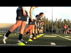 US Women's Soccer Team training video- played to Sexy and I Know It. The kids love watching these women work.