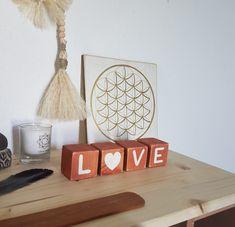 love Cubes, Terracotta, Boutique, Artisanal, Love, Heart Shapes, White People, Amor, Terra Cotta