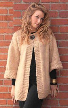 Crochet Hooded Baby Cardigan Making - Stricken Sweater Knitting Patterns, Cardigan Pattern, Coat Patterns, Jacket Pattern, Baby Cardigan, Cardigan Bebe, Crochet Coat, Knitted Coat, Crochet Cardigan