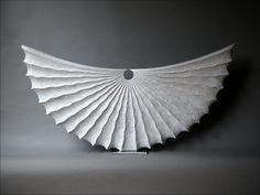Demi-lune Coquille blanche 100cm