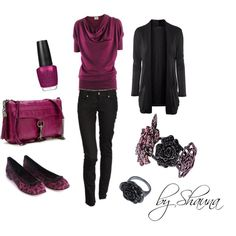 Black Cherry, created by shauna-rogers on Polyvore