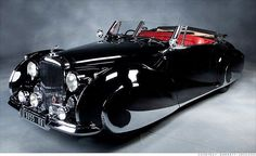 """1947 Bentley Franay Mark VI Cabriolet / """"Only three examples of this model were ever produced and each one is different."""""""