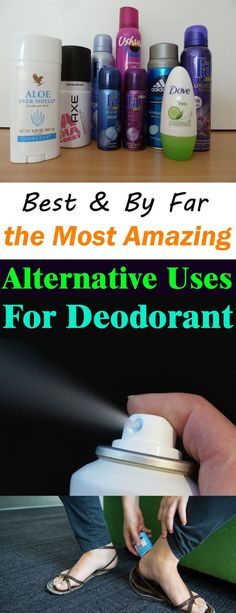 After reading this you'll start to buy more deodorants. These 13 DEODORANT uses are so amazing and worth knowing!
