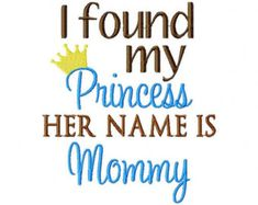Instant Download Just for Mommy Embroidery by ChickpeaEmbroidery