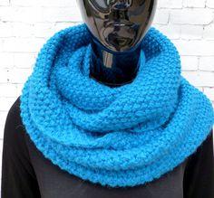 SNOOD / Echarpe / Col / Scarf laine/alpaga de la boutique TricotDeJulie sur Etsy