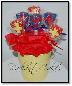 Medieval Shield Cake Pops by RadiantCakes on Etsy, $24.00
