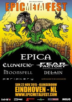 nice EPICA - announce Epic Metal Fest!