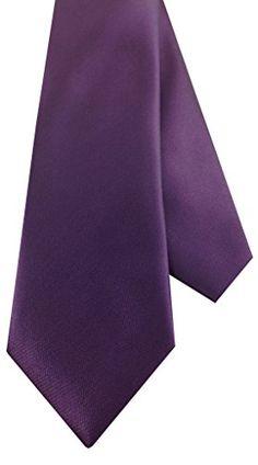 Boys Self Tie Necktie Solid Purple Plum  http://www.yourneckties.com/boys-self-tie-necktie-solid-purple-plum/