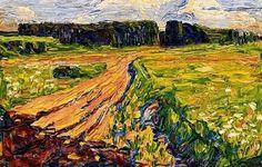 Wassily Kandinsky, Múnich Planneg, 1901
