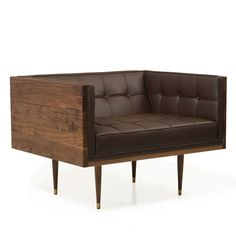 Box Sofa Armchair    Autoban  inspiration from the 1950's modernist movement // to match all the credenzas I pinned