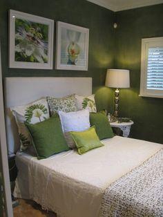 Guest bedroom Lee Moon Interiors