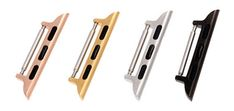 Apple Watch Band Connector Adapters with Springbar for All 38mm Apple Watches - Screwless