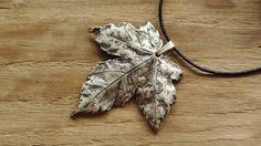 Silver Pendants – Silver maple leaf – a unique product by Misarte on DaWanda