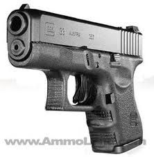 Glock 33Loading that magazine is a pain! Excellent loader available for your handgun Get your Magazine speedloader today! http://www.amazon.com/shops/raeind