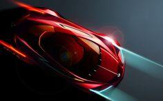 Futuristic Car Design