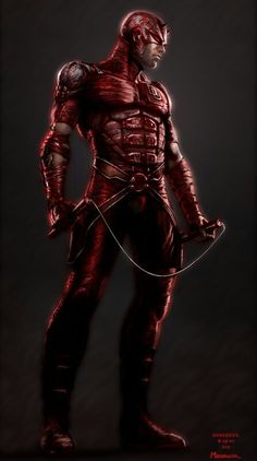 DAREDEVIL concept art by •Warren Manser