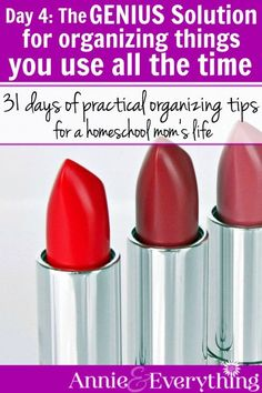 You'll wonder why you never thought of this organizing solution yourself. It's so simple yet so helpful! Part of a series with great organization ideas and tips for your whole life.
