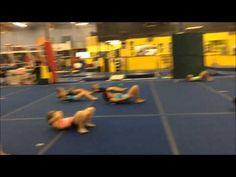 ▶ 7 7 2015 Partner slider relay - YouTube Gymnastics Games, Gymnastics Lessons, Tumbling Gymnastics, Gymnastics Workout, Gymnastics Things, Gymnastics Conditioning, Gymnastics Flexibility, Muscle Memory, Sliders