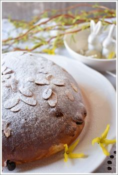 mazanec Easter Recipes, Food And Drink, Bread, Cookies, Chocolate, Sweet, Baguette, Recipes, Crack Crackers