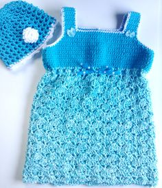 I'm selling Toddler's Turquoise Sundress with Matching Hat - $35.00 #onselz