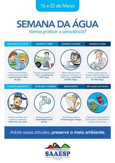 Prefeitura de São Pedro | Semana da Água estimula uso consciente com atividades nas escolas