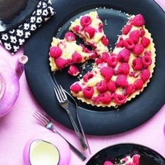 This pretty pastry pie is packed with fresh raspberries and will be sure to impress guests. Find more pastry and pie recipes at Chatelaine.com!