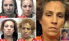 Terrible toll of meth on mother who 'stomped her son, 9, to death'