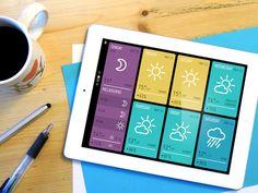 MINIMETEO for iPad by Alberto Antoniazzi, via Behance