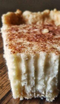 Vanilla Bean Cream Pie