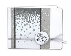 Peace On Earth Card - click through for project instructions.