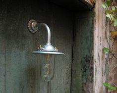 Galvanised Barn Light