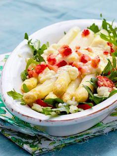 So lecker und raffiniert kann man Spargel vegetarisch zubereiten!