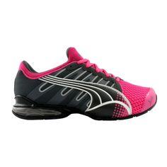 Womens Puma Voltaic III Athletic Shoe - Fuchsia/Charcoal