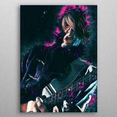 Joe caricature by Abraham Szomor | metal posters - Displate