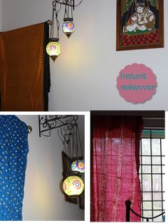 "Now learn some new tips on draping your windows these holidays. ""How To Drape Your Windows"" - a new post by our blogger Lakshmi will totally inspire you to re-decor your room this season."