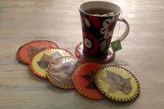 Podzimní podtácky | Rodina21 #podzim #podzimnitvoreni #tvoreniprodeti #deti Mugs, Tableware, Hercules, Dinnerware, Tablewares, Mug, Place Settings