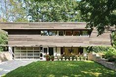 The home of mid-century architects, Winston and Elizabeth Close. Photo by Matt Dahlman. Minnesota mid century modern.