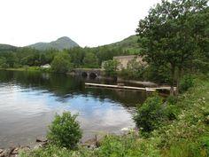 Loch Ness in Highlands of Scotland
