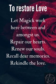 A witch spell chant to restore love between people. Order your love spells online from Professional Love Spell Caster. Strong Love Spells that work. Witchcraft Spells For Beginners, Healing Spells, Magick Spells, Love Spell Chant, Love Spell That Work, Real Love Spells, Powerful Love Spells, Wiccan Quotes, Spiritual Quotes