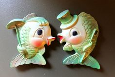Miller Studios Retro Kitschy 1969 Chalkware by TheVintageWall, $29.99