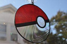 Pokeball Suncatcher by joemakesglass on DeviantArt