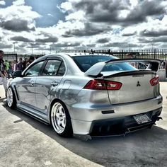#Mitsubishi #Evo_X #Modified