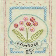 Primrose stitched