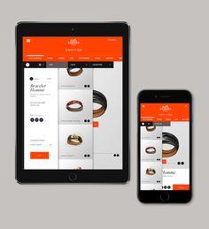 Web | Hermès Concept on Web Design Served