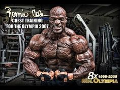 Çalışma Teknikleri – Training with Mr. Olympia Ronnie Coleman | | BODY BUILDING