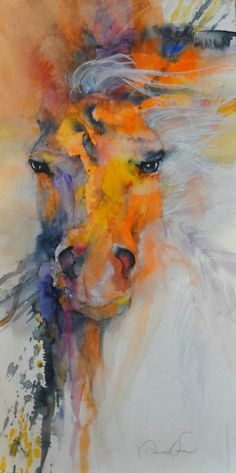 """""""The Driven One,"""" by Dawn Ness. That look."""