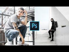 Photoshop Youtube, Photoshop Presets, Photoshop Tutorial, Adobe Photoshop, Color Grading Photoshop, Instagram White, Photo Editor, Board, Photography Tricks