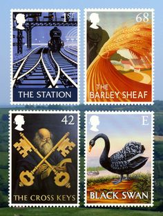 Inn signs - Royal Mail stamps