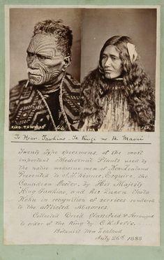 Topic: King Tawhiao's fern collection Tonga, Tahiti, Ta Moko Tattoo, Maori Tribe, Nz History, Polynesian People, Flower Tattoo Foot, Flower Tattoos, New Zealand Tattoo
